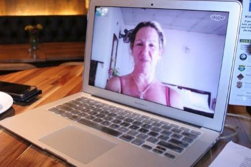 """עו""""ד גירושין רן רייכמן - עדות דרך הסקייפ"""